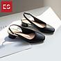 Giày nư , gia y cao gót slingback Erosska mũi vuông kiểu dáng basic gót vuông vững chắc cao 5cm - EL013 6