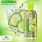 Sữa rửa mặt sạch nhờn giảm mụn Cucumber Facial Wash 100ml 2