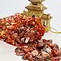 Túi Tài Lộc đá Thạch Anh Đỏ 100g 3