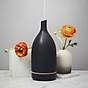 Máy khuếch tán tinh dầu gốm đen Lorganic FX2014 Phun sương sóng siêu âm Thích hợp xông phòng, thanh lọc không khí, khử mùi. 2