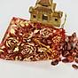 Túi Tài Lộc đá Thạch Anh Đỏ 100g 2