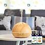Máy khuếch tán ánh trăng vân gỗ sáng FX2040 + Tinh dầu sả chanh Lorganic(10ml) + Tinh dầu bưởi chùm Lorganic (10ml) Thích hợp xông phòng diện tích 15 - 40m2. 8