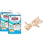 Combo 2 bịch tã quần Goo.N Premium gói cực đại size L46 (46 miếng) + Tặng 1 thú bông con hươu thumbnail