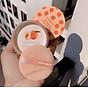 Một Hộp Phấn Phủ Dạng Bột Ba Ngăn Kiss Beauty Peach Tặng Kèm Bông Phấn 4