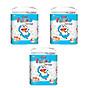 Combo 3 gói Tã quần Goo.n Friend L46 thiết kế mới - tặng đồ chơi Toys house 1