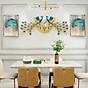 Đồng hồ trang trí Chim Công CD6 Đồng hồ treo tường chim công Đồng hồ Khổng Tước thumbnail