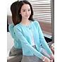 Áo Khoác Len Nữ Cổ Đính Cúc Ngọc MHAL025 MayHomes 1