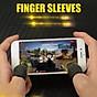 Bộ găng tay chơi game bao 10 ngón tay cao cấp chống mồ hôi chống trượt 1