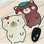 Bàn di chuột hình gấu dễ thương F274SP2 thumbnail