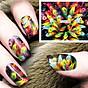 Sticker dán móng tay làm Nail thumbnail