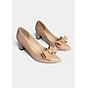 Giày cao gót Erosska thời trang mu i nho n đi nh nơ điê u đa kiê u da ng cơ ba n cao 5cm EP005 thumbnail