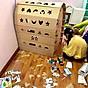 Nhà Lắp Ghép Thông Minh Nhà Giấy Carton Lắp Ráp Cho Bé 3