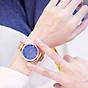Đồng hồ thời trang nữ thời trang dây lưới nam châm mặt đá màu siêu đẹp ZO88 thumbnail