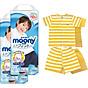 Bộ 2 tã quần cao cấp bé trai Moony XXL26 [Tặng bộ quần áo Nous 18-24m] thumbnail