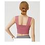 Áo croptop thể thao chạy bộ thể dục thể thao ,yoga , tập GY mã MTKWX7016 2