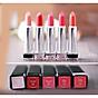 [Tặng kèm móc khoá] Son môi lâu trôi nhiều dưỡng Beauskin Crystal Lipstick 3.5g ( 1 Đỏ Tươi) 6
