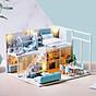 Mô hình nhà DIY Doll House Poetic Life Kèm Mica Chống bụi thumbnail