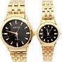 Cặp đồng hồ Nam Nữ Halei - HL502 Dây vàng thumbnail