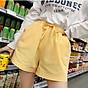 Quần đùi short nữ vải đũi thời trang mát mẻ mùa hè QĐ06 thumbnail