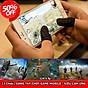 Bộ 2 găng tay chơi game chống mồ hôi cho điện thoại - bao tay chơi pubg mobile, free fire, liên quân mobile chống mồ hôi thumbnail