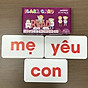 Bộ Thẻ Học Flash Card 200 Từ Đơn Glenn Doman Chuẩn Chương Trình Giáo Dục Sớm - Dạy trẻ học nói _ Dạy bé đọc chữ _ Dạy trẻ đọc sớm thumbnail
