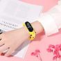 Đồng Hồ Điện Tử Trẻ Em Đèn Led Họa Tiết Hoạt Hình 3D Xinh Xắn DH109 1