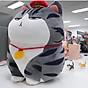 Gấu bông mèo hoàng thượng siêu to khổng lồ, gấu bông mèo hoàng thượng cao cấp vải nhung co giãn 4 chiều 3