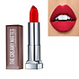 Son Lì Siêu Nhẹ Môi Maybelline New York Color Sensational Creamy Mattes 4.2g - Màu 690 Đỏ Tươi Siren In Scarlet thumbnail