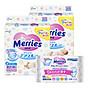 Combo 2 Gói Tã Dán Merries + 01 Gói Khăn Ướt Chăm Sóc Da Trẻ Em Merries (54 Miếng) thumbnail