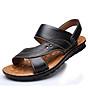 Giày Sandal phong cách thời trang Nhật Bản đế mềm chất liệu da bò thật phù hợp với các mùa trong năm mã 12129 8