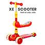 Xe trượt scooter 3 bánh cao cấp dành cho bé, phát nhạc, bánh xe phát sáng vĩnh cửu, rèn luyện vận động, tăng chiều cao cho bé, chịu lực lên tới 90kg 4