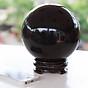 Quả Cầu Đá Obsidian Đen CD813209 thumbnail