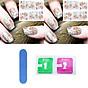 Miếng dán móng giả sticker (Kèm dũa và khăn) thumbnail