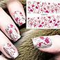 Miếng dán móng tay Nail (Kèm dũa và khăn) 2