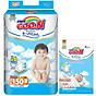 Tã Dán Goo.n Premium Gói Cực Đại L50 (50 Miếng) - Tặng thêm 8 miếng cùng size 1