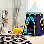 Lều hoàng tử - công chúa cho bé có đèn, lều cho bé PR001 (giao màu ngẫu nhiên) 6