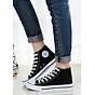 Giày Classic Nữ Cổ Cao Màu Đen Sp01 - Đen thumbnail