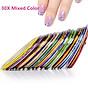 Set 10 cuộn băng keo trang trí móng DIY phong cách tao nhã - decal dán móng Nail nghệ thuật 3