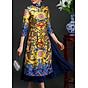 Set áo dài cách tân kèm váy họa tiết thổ cẩm BY2001 thumbnail