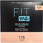 Phấn Nền Kiềm Dầu Chống Nắng 12H SPF 28 PA+++ Mịn Lì Lâu Trôi Fit Me Maybelline New York Compact Powder 6g 3
