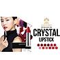 Son môi lâu trôi nhiều dưỡng Beauskin Crystal Lipstick 3.5g ( 22 Hồng tươi) và móc khóa 8