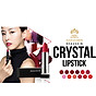 [Tặng kèm móc khoá] Son môi lâu trôi nhiều dưỡng Beauskin Crystal Lipstick 3.5g ( 1 Đỏ Tươi) 8