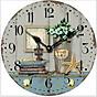 Đồng hồ treo tường Vintage Phong cách Châu Âu hình tròn DH13 Hình sao biển thumbnail