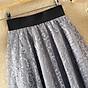 Chân váy ren hoa xòe 2 lớp Haint Boutique Cv18 3