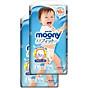 Bộ 2 tã quần cao cấp bé trai Moony L44 - [Tặng bộ quần áo Nous 18-24m] 2