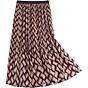 Chân váy xếp ly họa tiết sóng bắt mắt VAY67 vải đẹp, không nhăn thumbnail