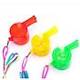 Còi nhựa trang bị đèn LED nháy 3 chế độ độc đáo - Trang bị thể thao, dã ngoại cho bạn - Giao màu ngẫu nhiên 2