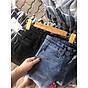 Quần jean nữ lưng cao ôm body 2 túi trước vải mềm co giãn hình thật 5