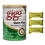 Sữa Bột Gigo Gain Plus 900g - dinh dưỡng hàng ngày cho người gầy, biếng ăn ( cho trẻ từ 1 tuổi trở lên và người lớn ) thumbnail