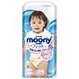 Tã bỉm quần moony xanh không cộng miếng nội địa Nhật Bản size XL bé gái 38 miếng ( cho bé từ 12-22kg) thumbnail